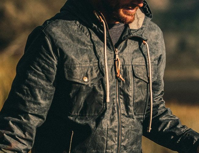 This Waxed Canvas Jacket Will Stand Up to the Worst Spring Weather