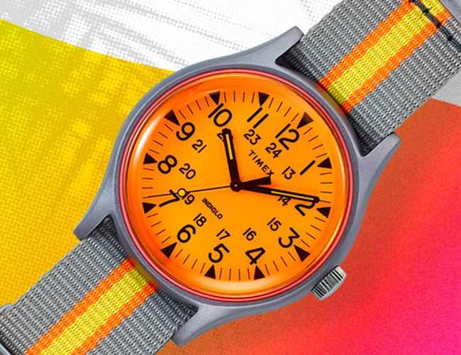 Timex's Aluminum Field Watch Now Comes in Four Conspicuous Colorways