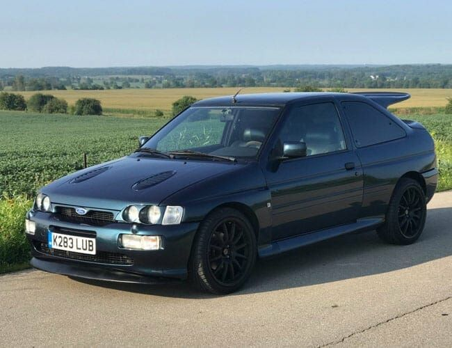 Why Doesn't Ford Make Cars Like This 1992 Escort RS Anymore?