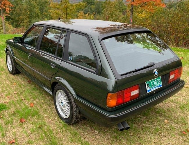 This BMW 325iX Is the Ultimate Winter Wagon and It's Here Just in Time