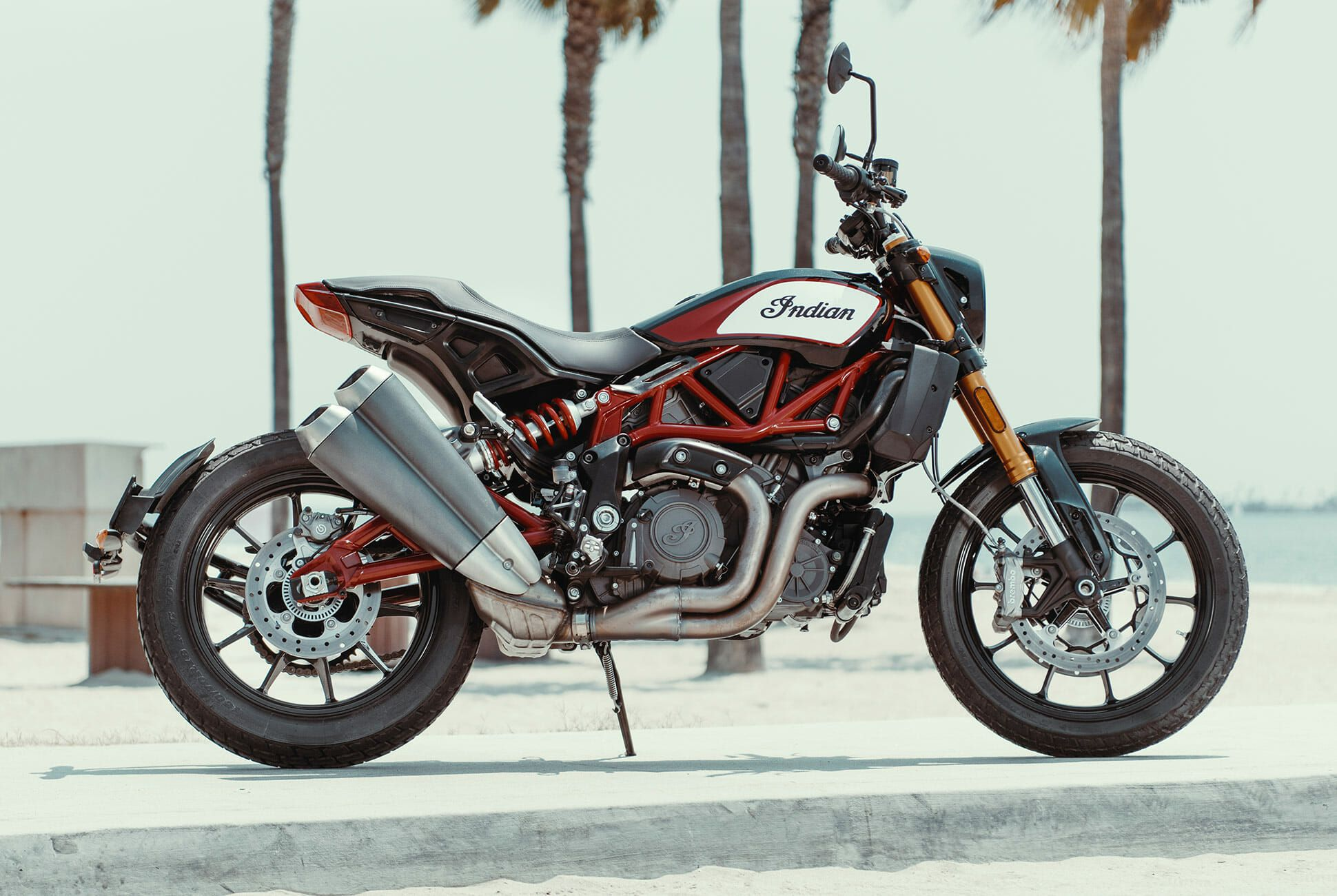 Indian Ftr 1200 >> Ducati Has An Unexpected Rival In The Indian Motorcycle Ftr