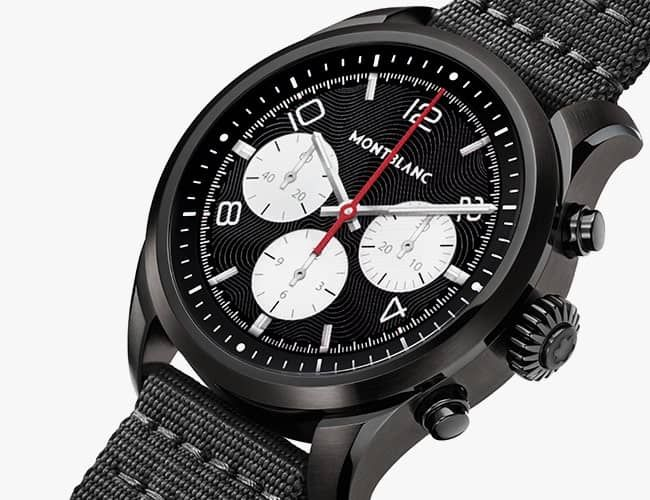 Montblanc's Summit 2 is a Case Study in How to Meld Luxury With Tech
