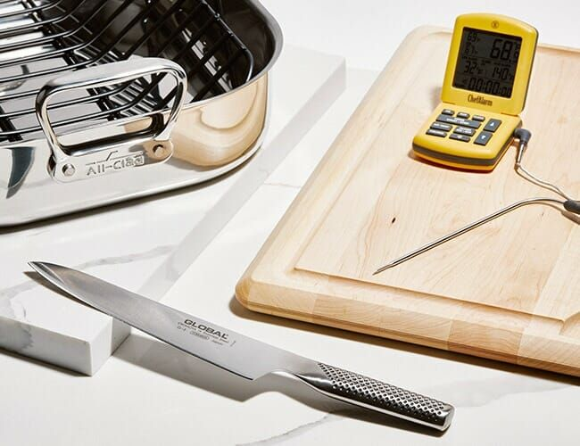 You Only Need Four Tools to Cook an Awesome Turkey