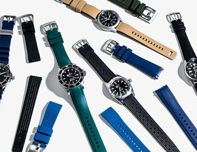 These Are the Best Rubber Watch Straps to Wear This Summer