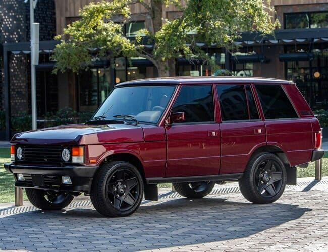 East Coast Defender's Latest Resto-Mod Is this Gorgeous Range Rover Classic