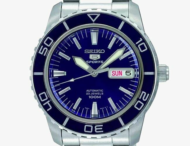 Get This Automatic Seiko 5 Dive Watch for $145