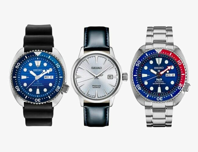 Save Big on Tons of Affordable Seiko Watches Right Now