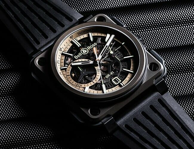 This Bold Bell & Ross Chronograph Has Supersonic Origins