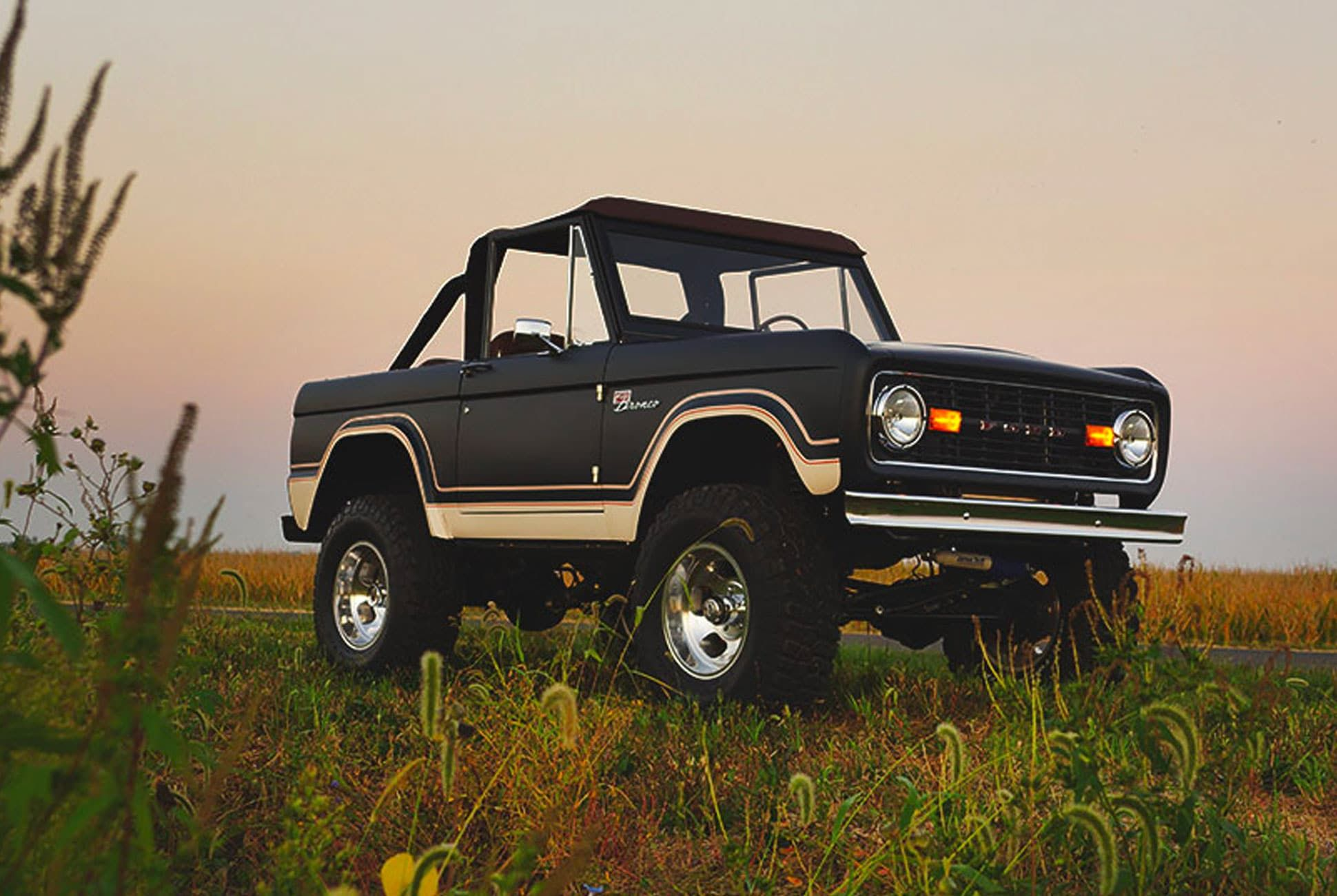 You Can Buy a Perfect Classic Bronco Restoration • Gear Patrol