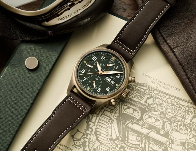 IWC's Newly Expanded Pilot's Watch Line Has Our Head in the Clouds