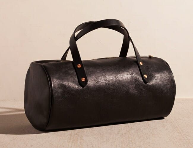 This American-Made Leather Duffle Bag Is Built to Last