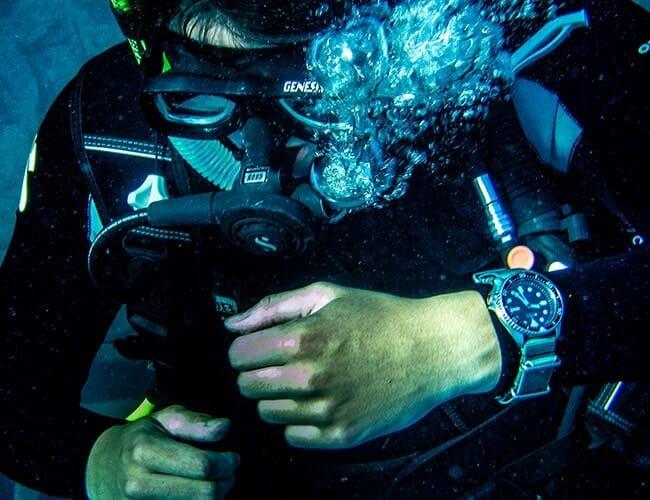 SCUBA Diving in Bermuda with the Seiko SKX007
