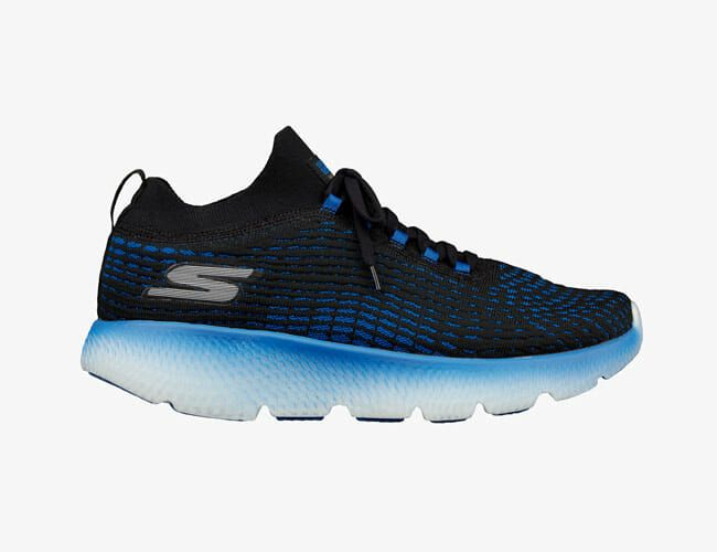 Skechers Adds Its New Lightweight Foam to a Max Cushioned Shoe