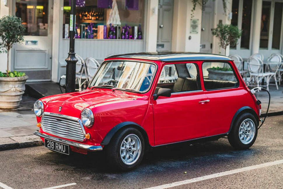 This Modernized Classic Mini Is the Perfect City Car ...