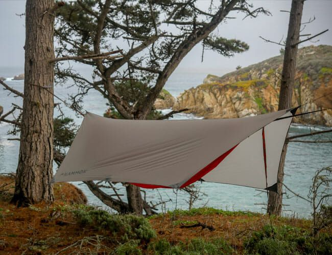This New All-in-One Camping Hammock Could Replace Your Tent
