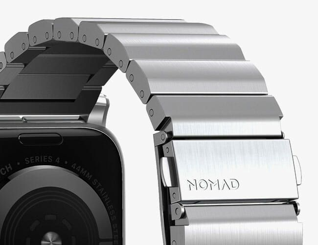 Nomad Just Launched the Apple Watch Bracelet We've Been Waiting For