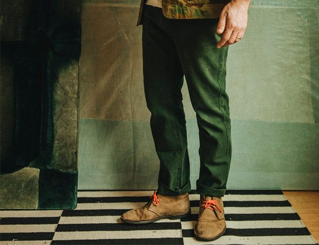 These New Work Pants Are Made From a Uniquely Durable Fabric