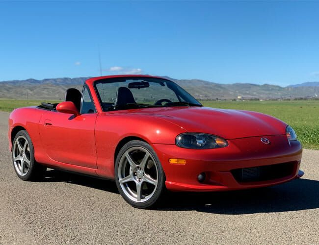 The 2004 Mazdaspeed Miata Is Criminally Undervalued