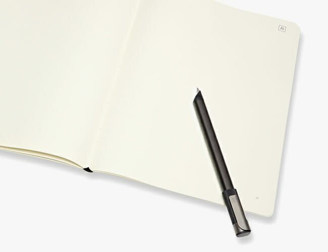 Every Creative Will Want Moleskine's New Tech-Laden Notebook