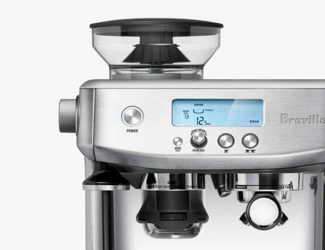 Breville's New All-in-One Espresso Machine Looks Pretty Stellar