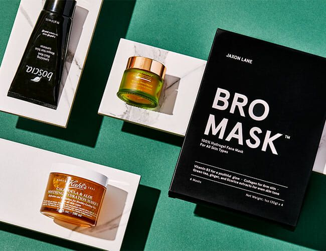 How to Find the Best Face Mask For Your Handsome Mug