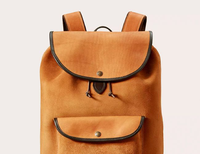 Filson Made a Rugged Suede Backpack Worth the Cash