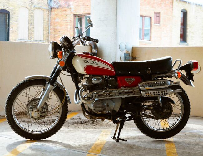 A Vintage Honda Is the Perfect Motorcycle for the City