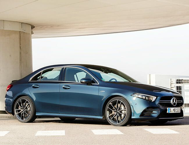 The Affordable Mercedes-AMG A 35 Sedan Is Finally Here