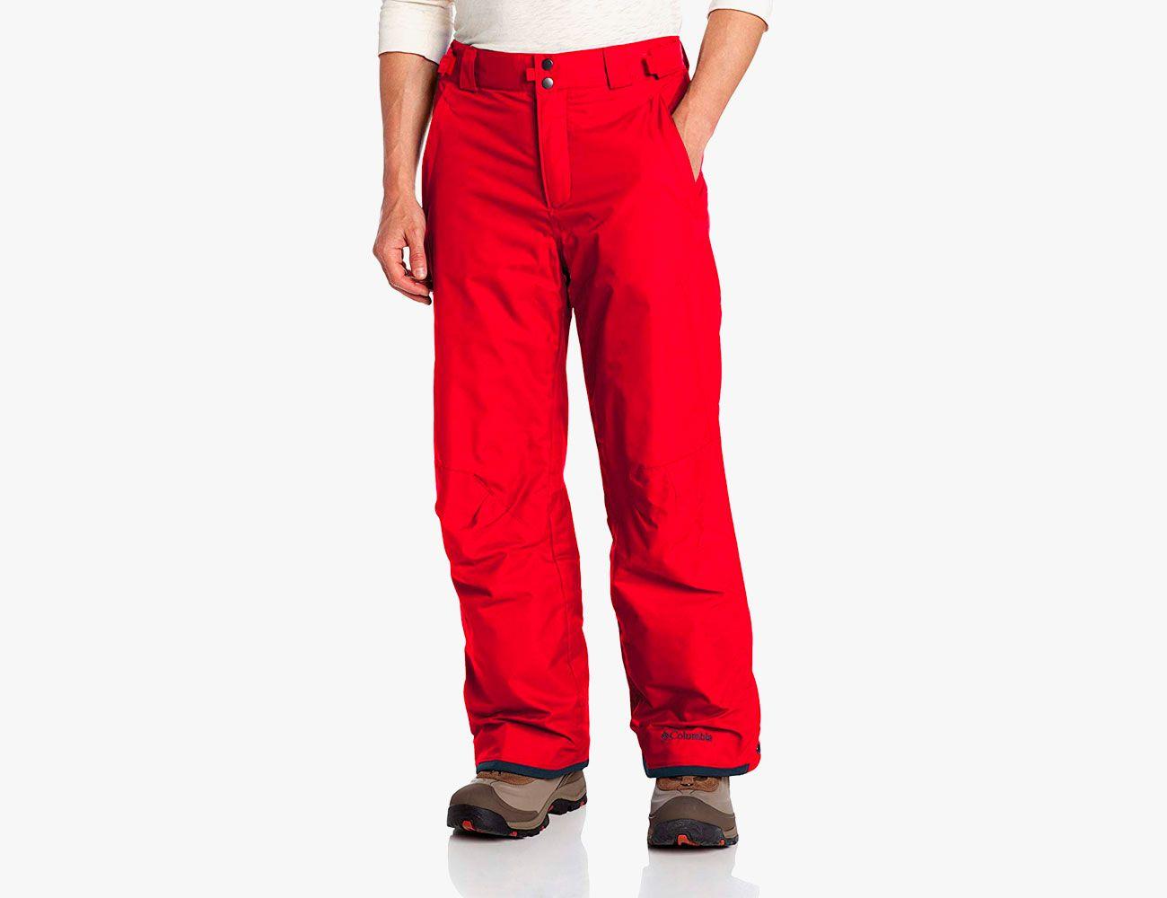 Womens Warm Outdoor Hiking Ski Pants Fleece Padded Windproof Waterproof Trousers