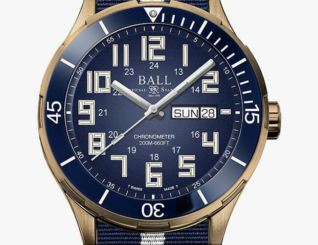 Ball's Insanely Bright Dive Watch Now Has a Bronze Case and In-House Movement