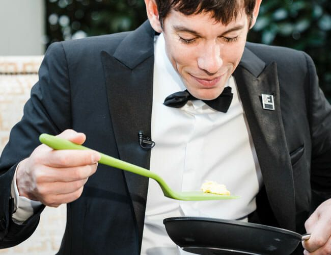 Testing Forks and Knives, er, Spatulas With Alex Honnold