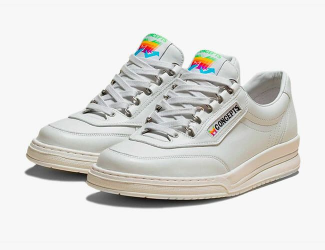 These Shoes Are an Homage to the Original Apple Sneakers