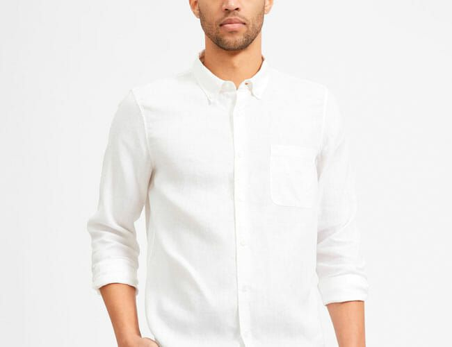 Back in Stock: Everlane Reissues Its Popular Linen Shirt for Spring and Summer