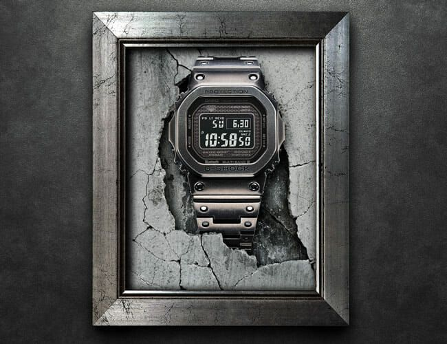 This New Steel G-Shock Watch Brings Baked-In Patina