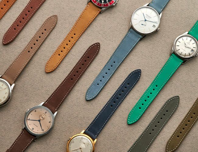 HODINKEE'S New Watch Strap is Available in Ten Colors