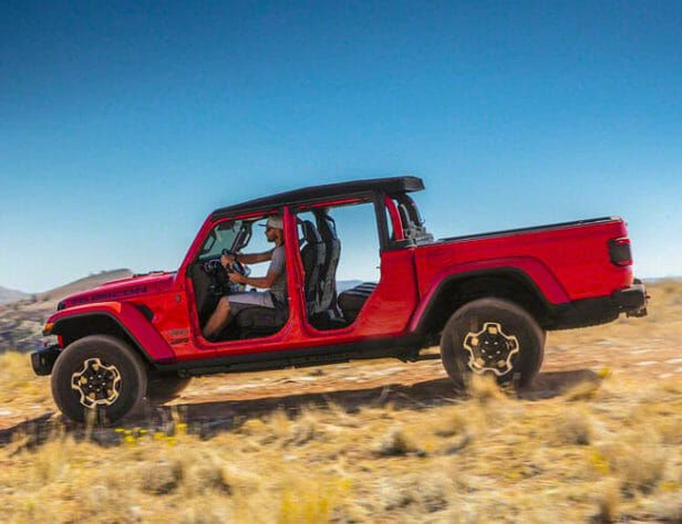 Jeep Gladiator pickup lease deal cheap