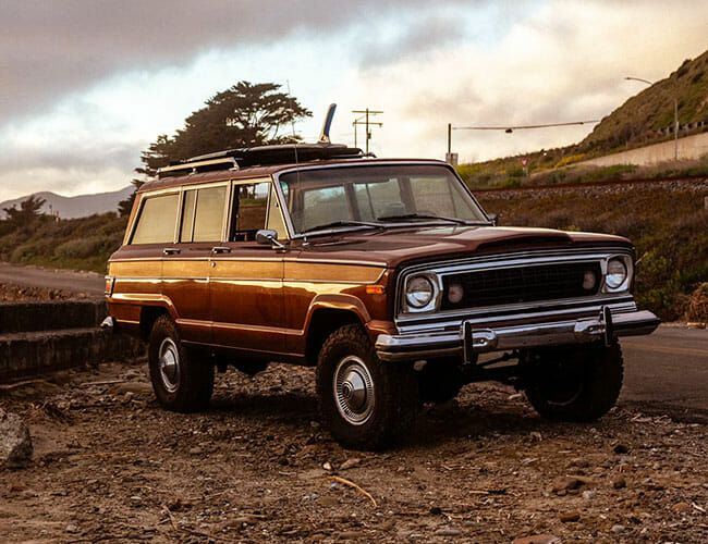 The Perfect Jeep Wagoneer Does Exist, and It's This Restomod