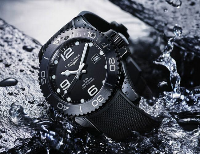 A New All-Black Ceramic Case Makes this Underrated Dive Watch Look So Damn Good
