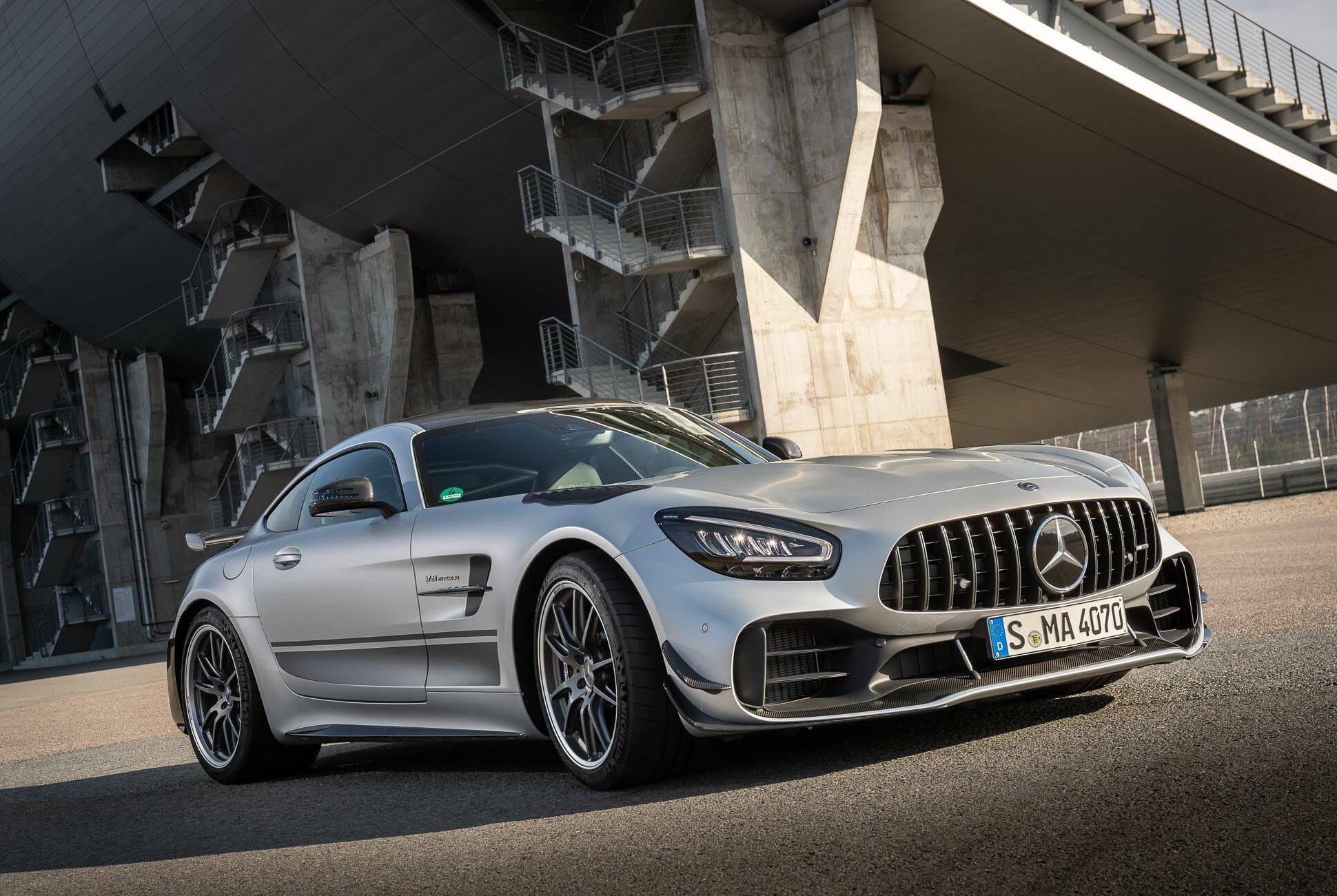 Mercedes-AMG GT Familie und AMG GT R PRO Presse Fahrvorstellung. Hockenheimring 2019 //Mercedes-AMG GT Family and AMG GT R PRO Press Test Drive. Hockenheimring 2019