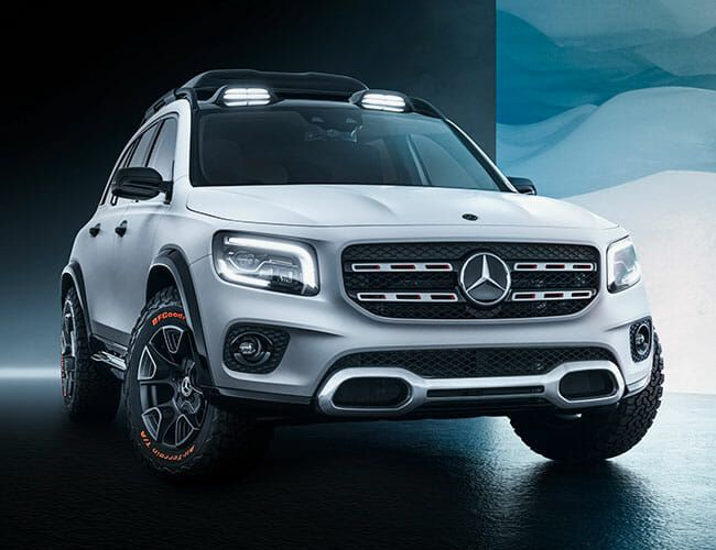 The All-New Mercedes-Benz GLB Concept Wants to Be a Baby G-Wagen