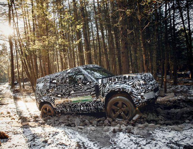 The New Land Rover Defender Launch Schedule: Here Are All the Details