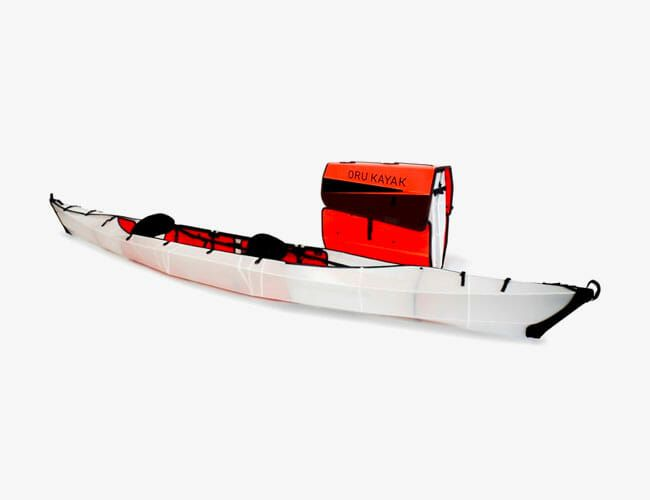 This New Tandem Kayak Will Fit in the Back of Your Sedan