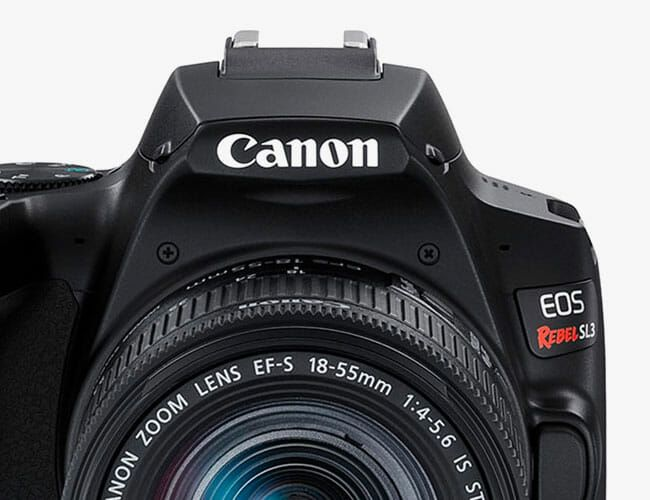 Canon Unveils the Most Compact Rebel DSLR Camera Ever. Oh, and It Shoots 4K Video