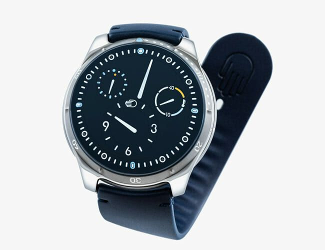 Ressence's Unique Dive Watch Gets a Beautiful Blue Upgrade