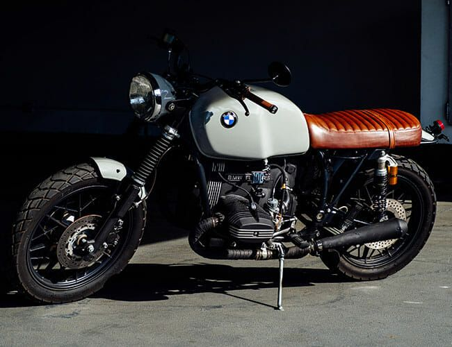 Roughchild Moto Is Giving Classic BMW Motorcycles a New Lease On Life