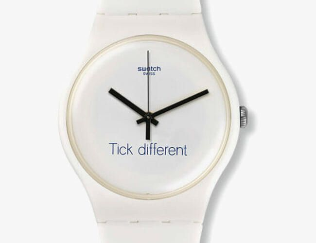 Apple Sued Swatch About This Watch and Lost
