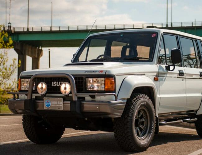 Forget the Old Jeeps and G-Wagens and Get This Isuzu Trooper