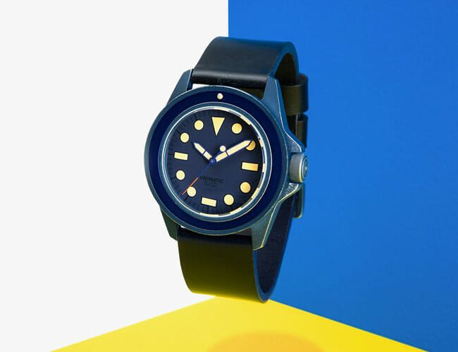 A Japanese Designer and an Italian Watch Manufacturer Teamed Up On This Beautiful Dive Watch
