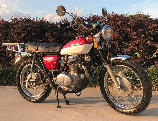 This Stunning Little Honda CL350 Would Make a Great City Bike