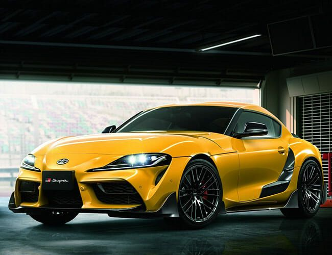 Toyota Already Has Upgrades for the New Supra